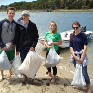Dead Neck beach cleanup