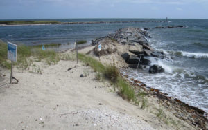 Cape Cod Beach Jetty
