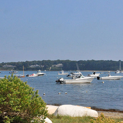 boats in Cape Cod Bay
