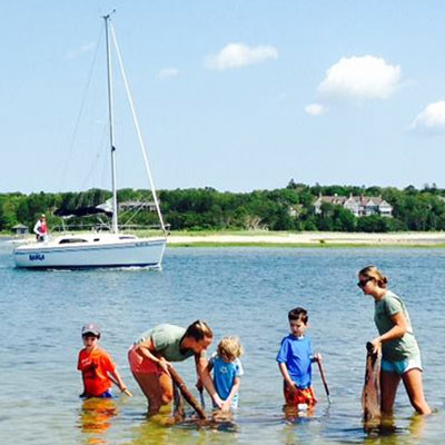 teaching kids about cape cod waterways