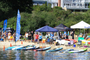 Three Bays Paddle Race