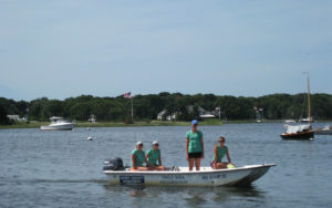 Three Bays Preservation water volunteers