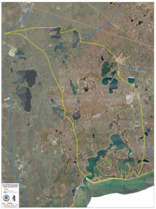 Three Bays Watershed Map