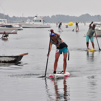 paddle board race fundraiser