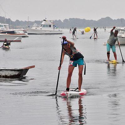 paddle board race fundraiser