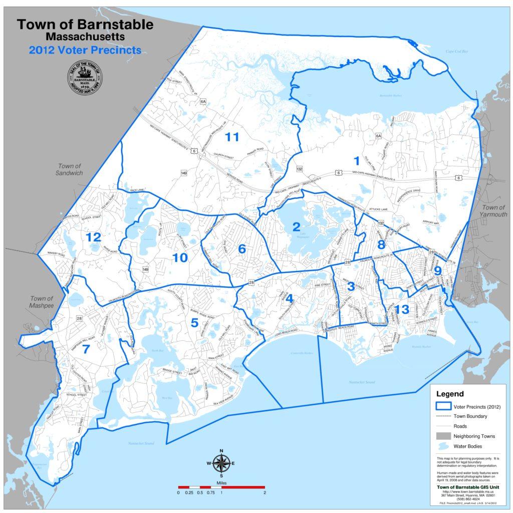 Precinct Maps   Barnstable Clean Water Coalition