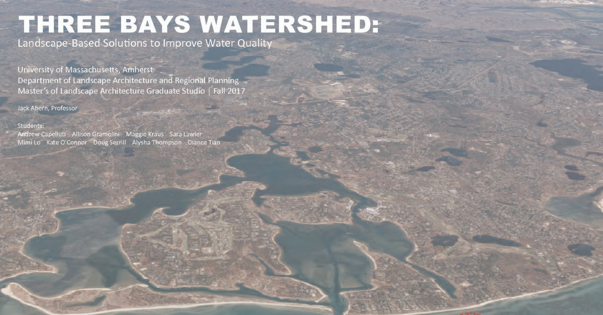 Three Bays Watershed – Cover